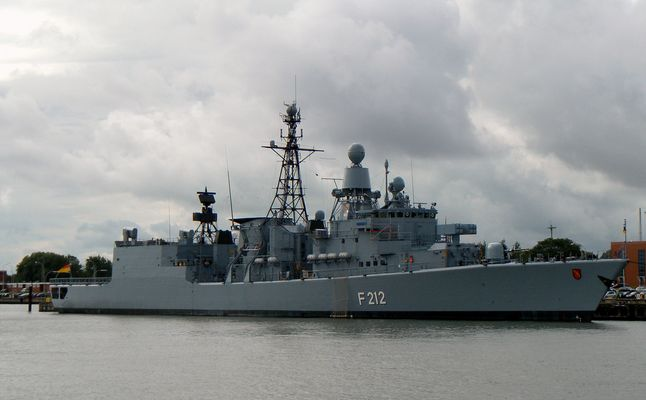 FGS F 212 Fregatte Karlsruhe;EinsFlt2/4.Fregattengeschwader