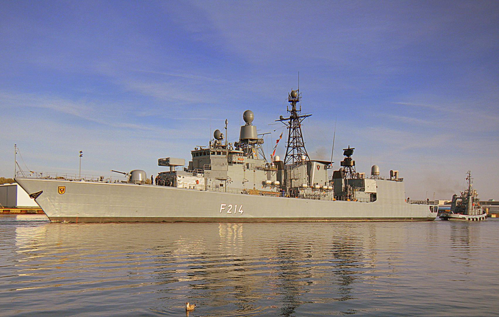 FGS F 214 Fregatte Lübeck [EinsFlt.2-4.Fregattengeschwader]