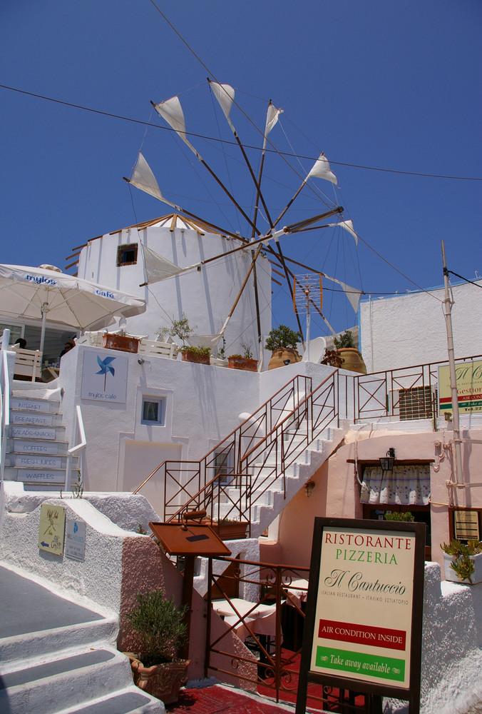 Fhira auf Santorini