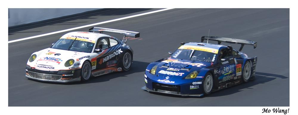 FIA GT ASIA - Sepang 2k7 - Fight