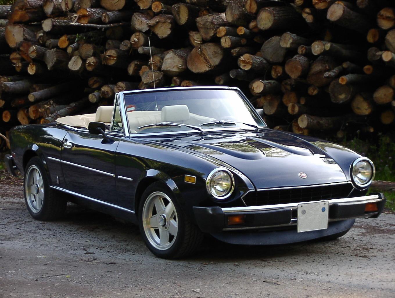 fiat 124 spider cs2 1982 02 foto bild autos. Black Bedroom Furniture Sets. Home Design Ideas