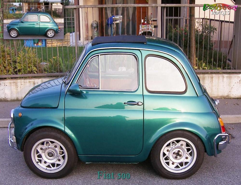 Fiat 500 - der schöne Alte !