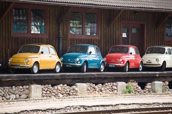 Fiat 500 - Smarties