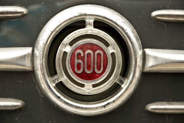 Fiat 600 - ganz ganz nah