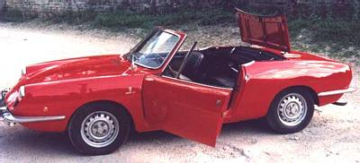 FIAT 850 Spider 1971