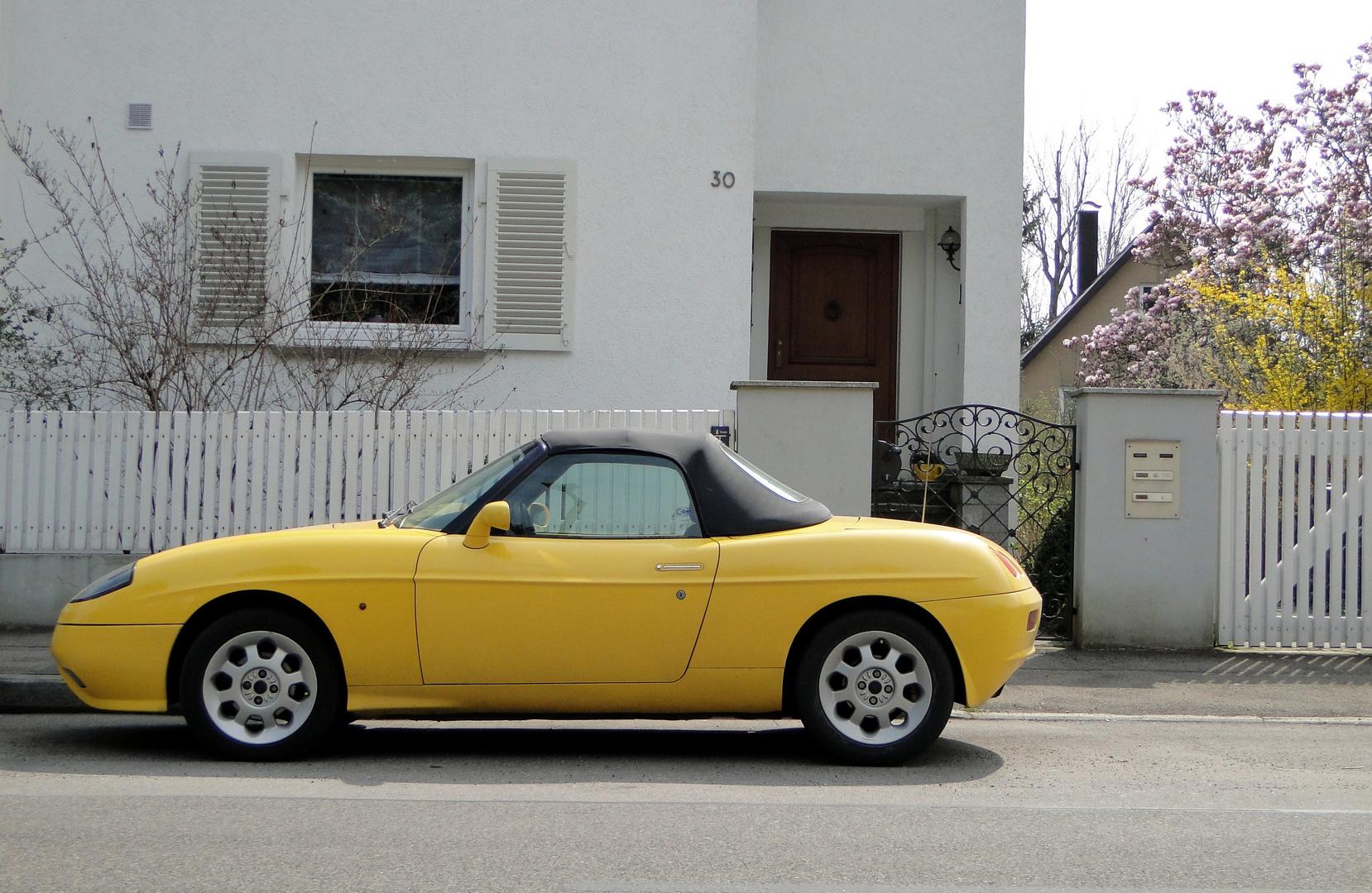 Fiat Barchetta, mal in Gelb...