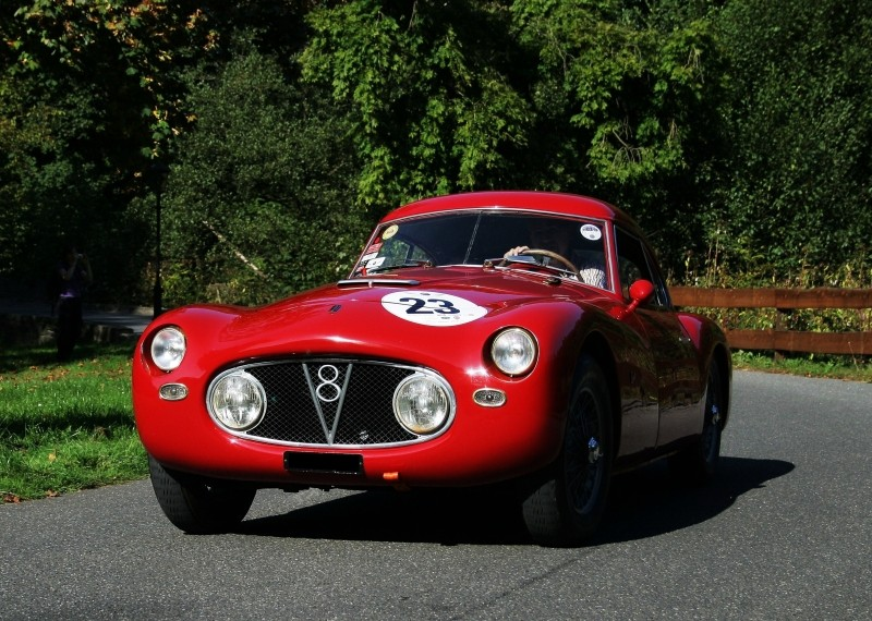 Fiat V8, Rallye Historique