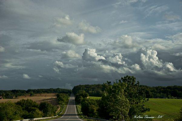 Fields and roads - DK