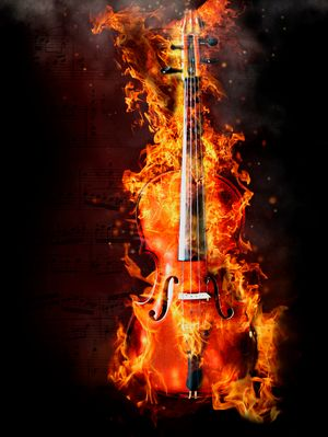 fiery sound