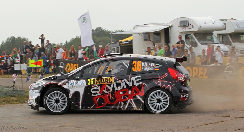 Fiesta R5 im Drift
