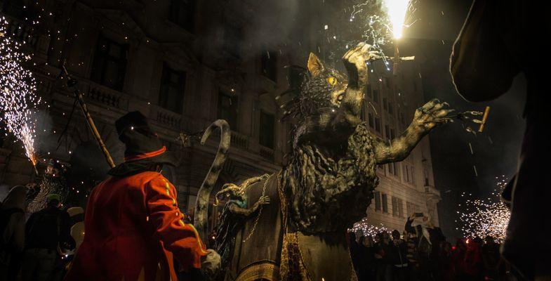 Fiestas de La Mercé. Barcelona