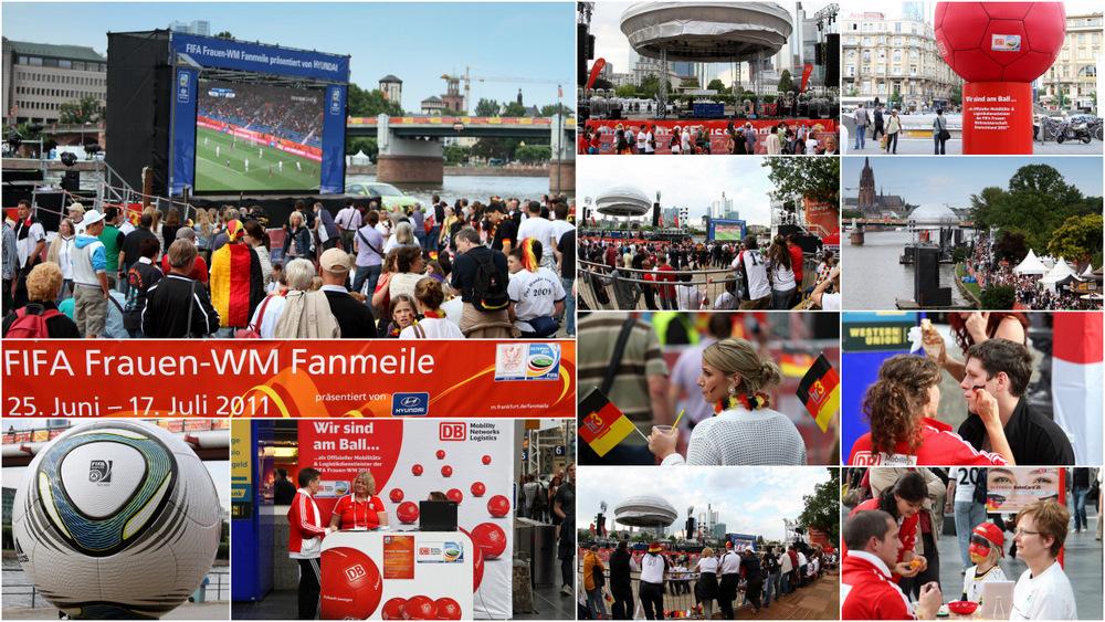 FIFA Fanmeile in Frankfurt/M