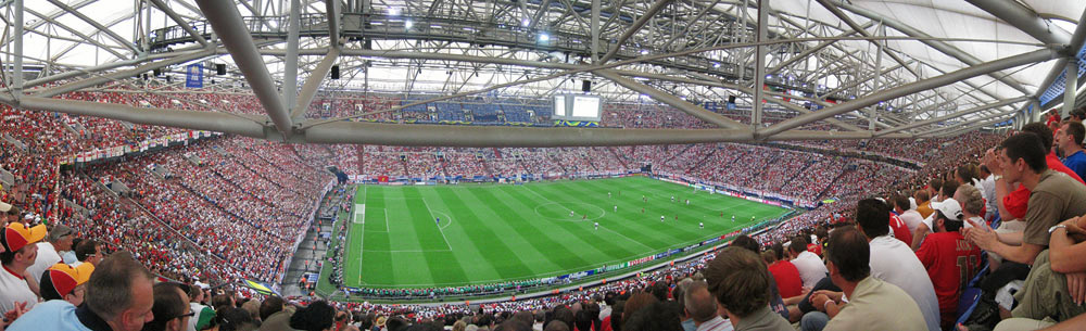 FIFA-WM Stadion Gelsenkirchen ENG-POR