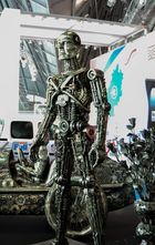 Figur aus Stahl