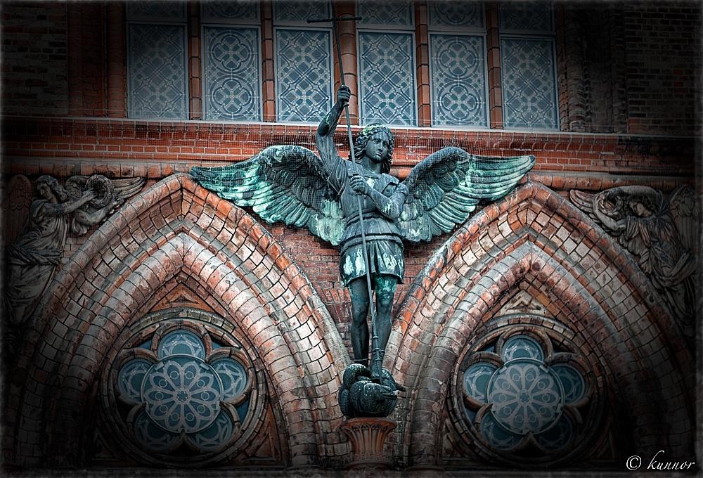 Figur der Friedrichs-Werdersche Kirche