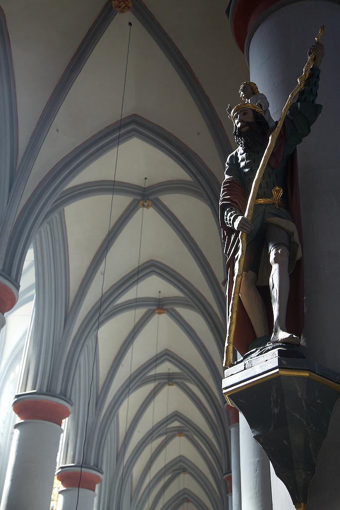 Figur im Altenberger Dom