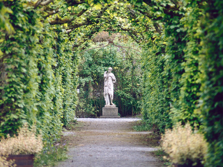 Figur in Birr Castle Gardens