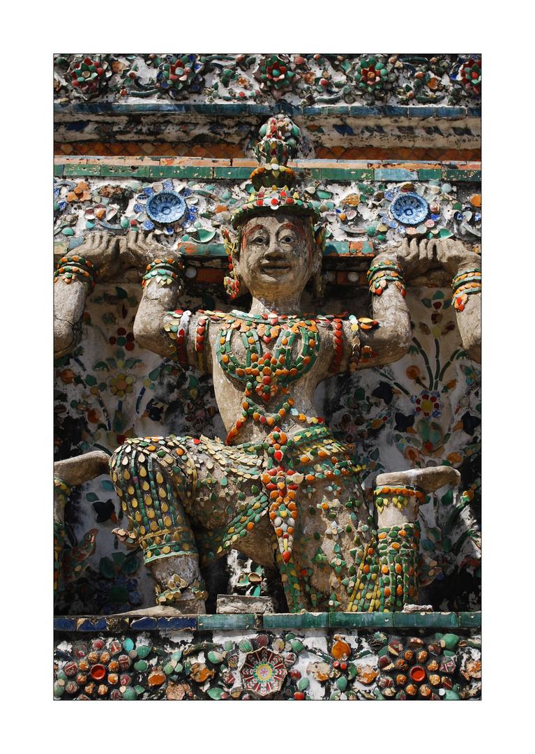 Figur Wat Arun-Tempel