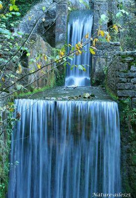filé d'eau au Lison