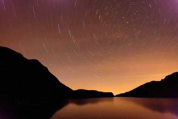 filé d'étoile sur Echeylle....