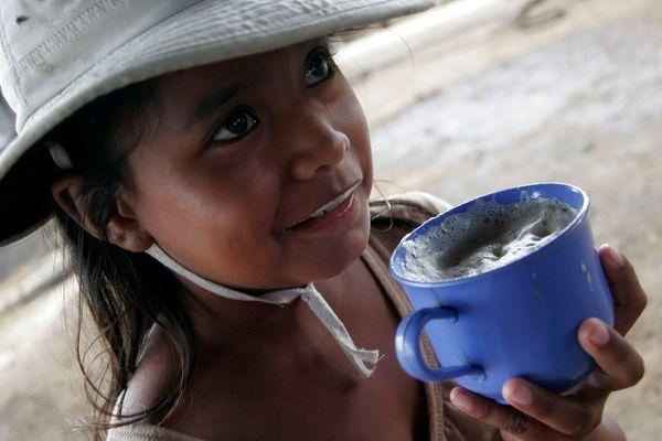 Fillette Bolivienne