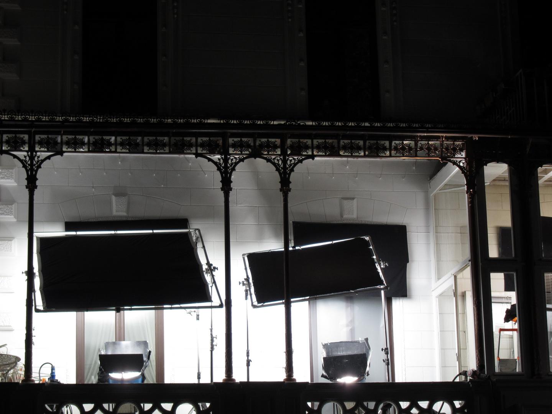 Filmaufnahmen im Viertel