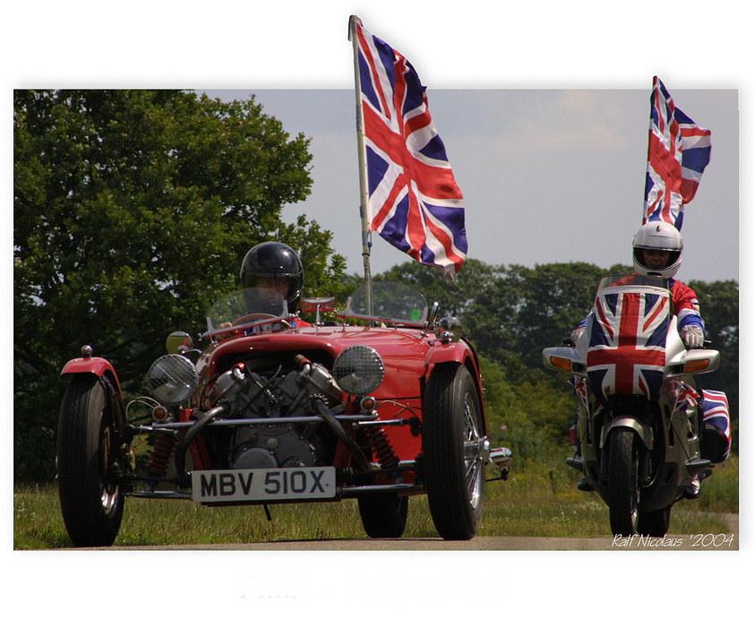 FIM-Rally 2004 - Invasion der Briten