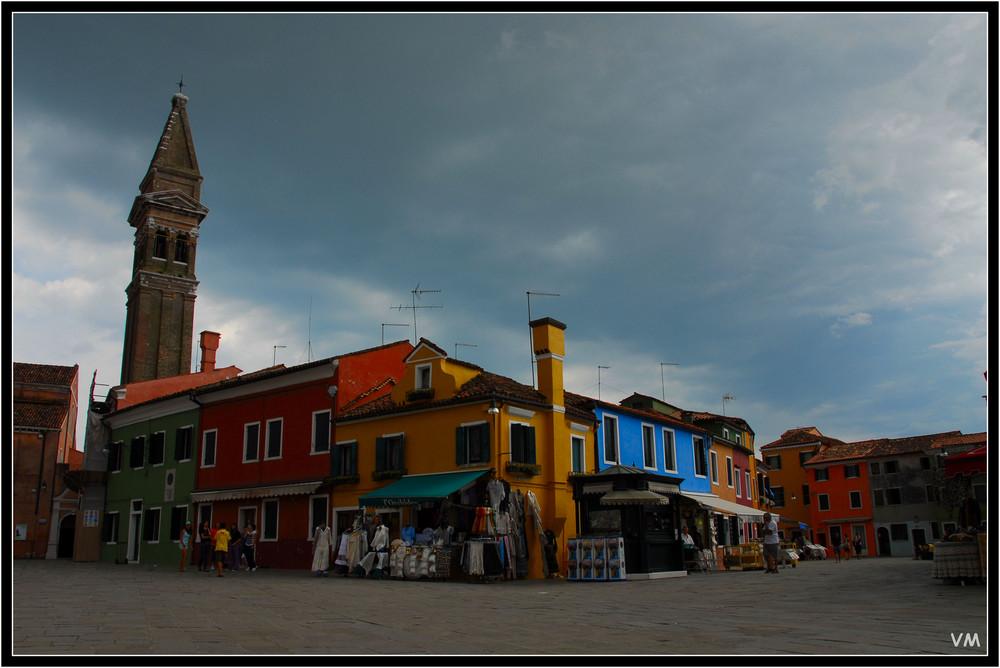Fin de journée à Burano...