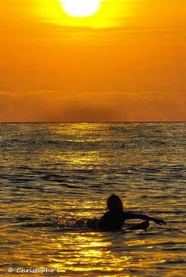 Fin de journée sur l' Océan - Plage de La Salie - La Teste de Buch (33)