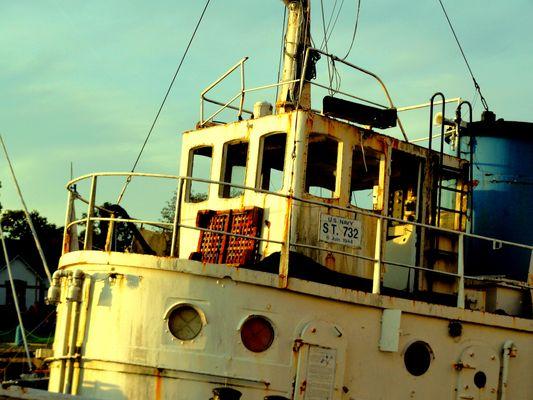 fin de vie pour ce bateaux....