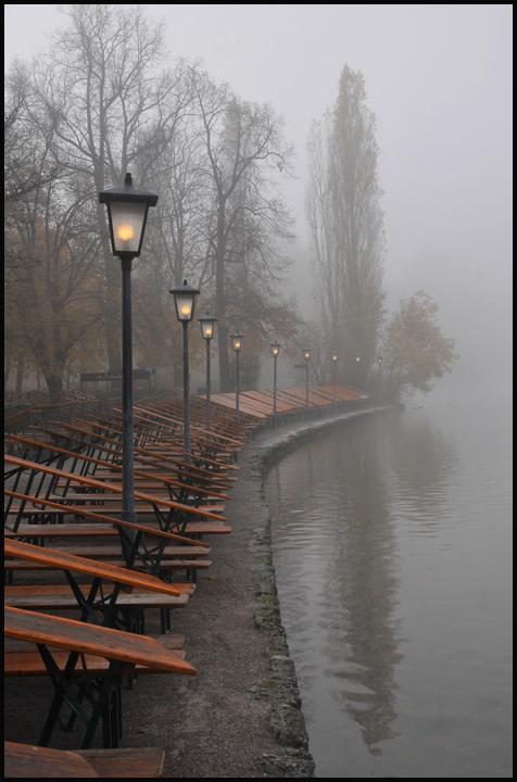 fin der saison mit nebel