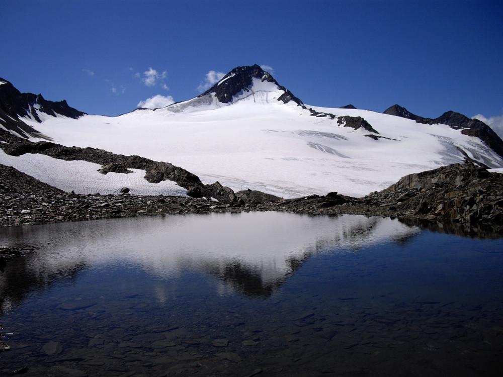 Finailspitze bei Perfektem Wetter