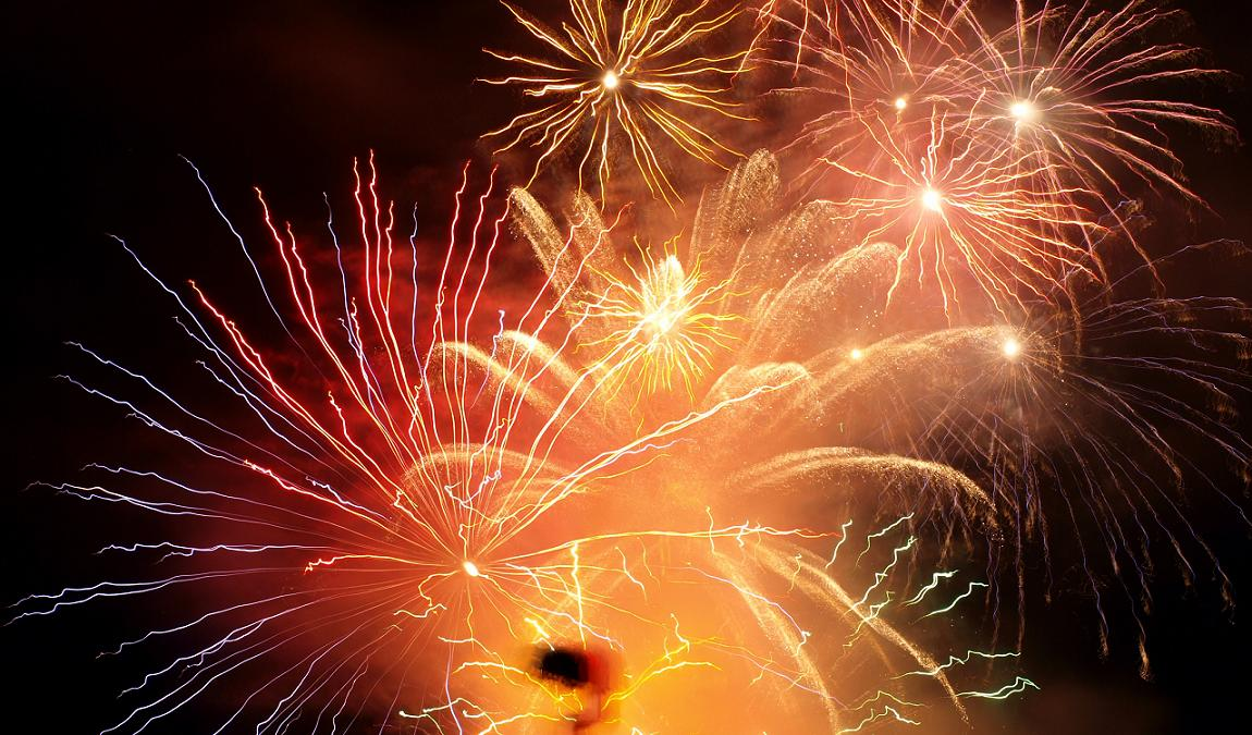 Finale des Feuerwerks