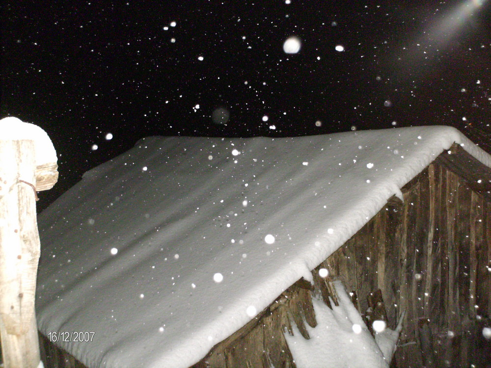 finalmente nevica