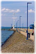 Findet die Fehler. Hafen Dagebüll, Nordfriesland