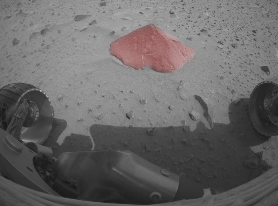 Findling vom Mars!