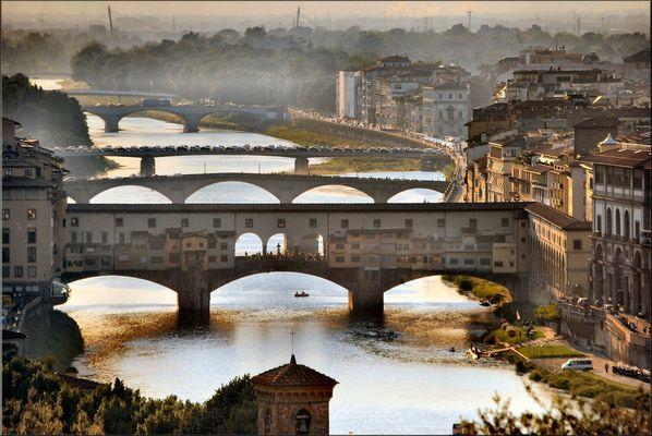 Fine giornata a Firenze