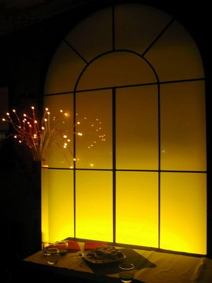finestra d'atmosfera