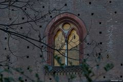 Finestra del castello, Pavia