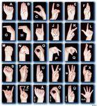 Fingeralphabet for Deaf
