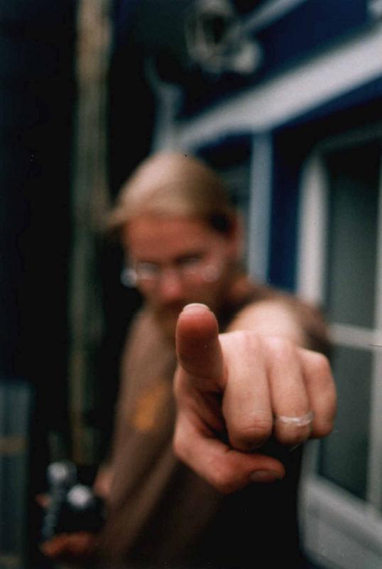 Fingernageldreckdetektor...Marke canon ae1