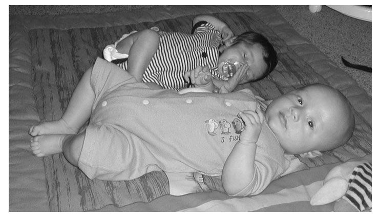 Finn und Lea Sophie