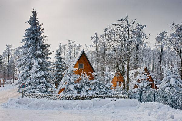 Finnhütten am Heuberghaus / Rennsteig