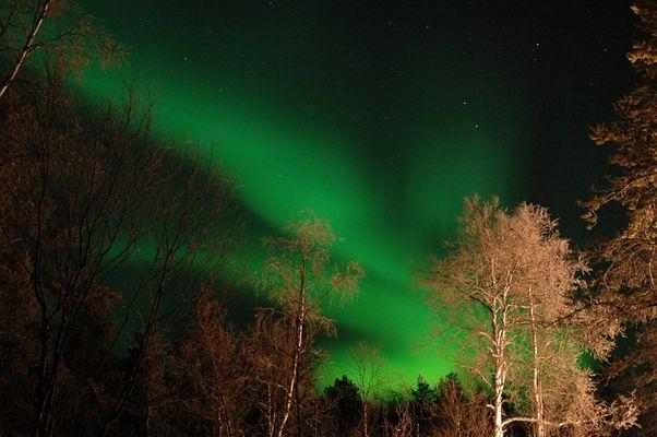 Finnisches Feuerwerk