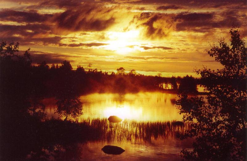 finnisches Lapland Juni 2006