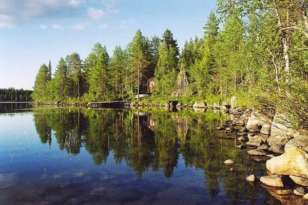 Finnland - am See