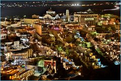Fira bei Nacht 2