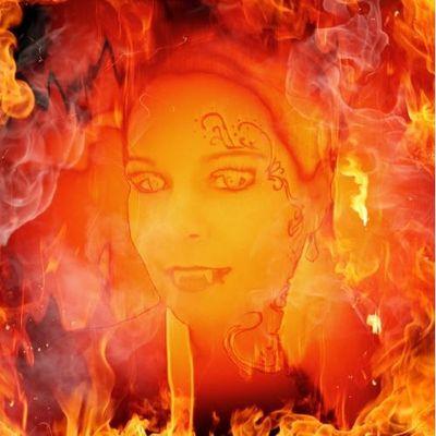 """Fire"" by Photofunia"