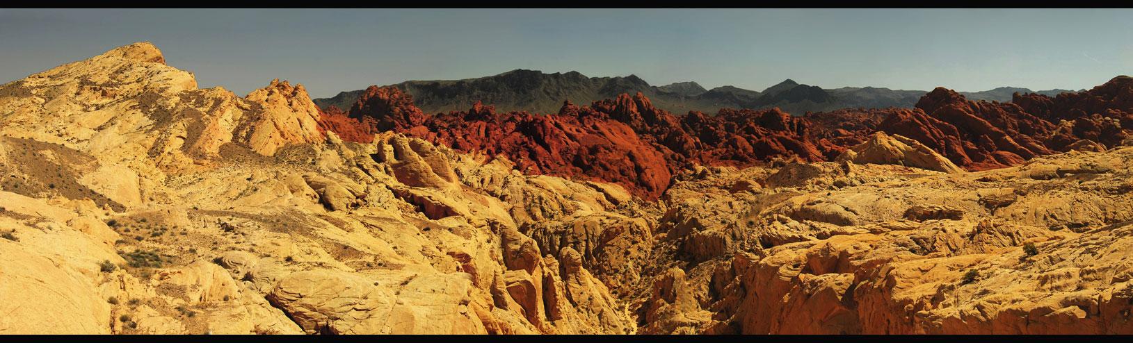 Fire Canyon - schwarz, rot, gold