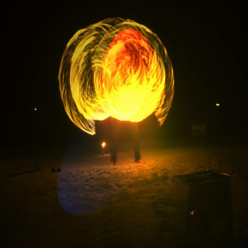 Fire dancer on Koh Phangan